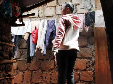 Girl struggles to join Form One after early motherhood in Kibera