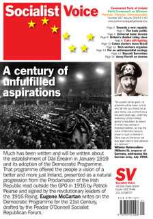 January issue of Socialist Voice