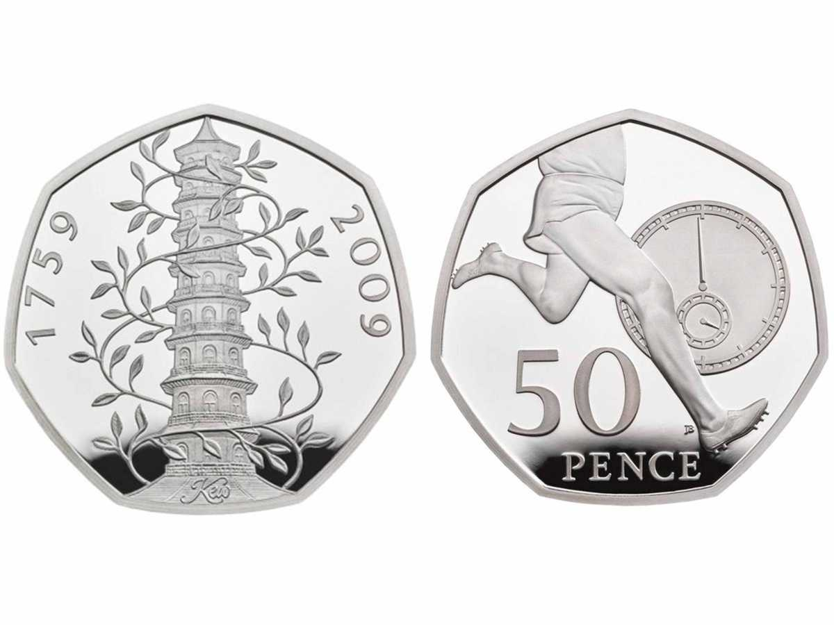 New coins celebrate 50 years of the 50p