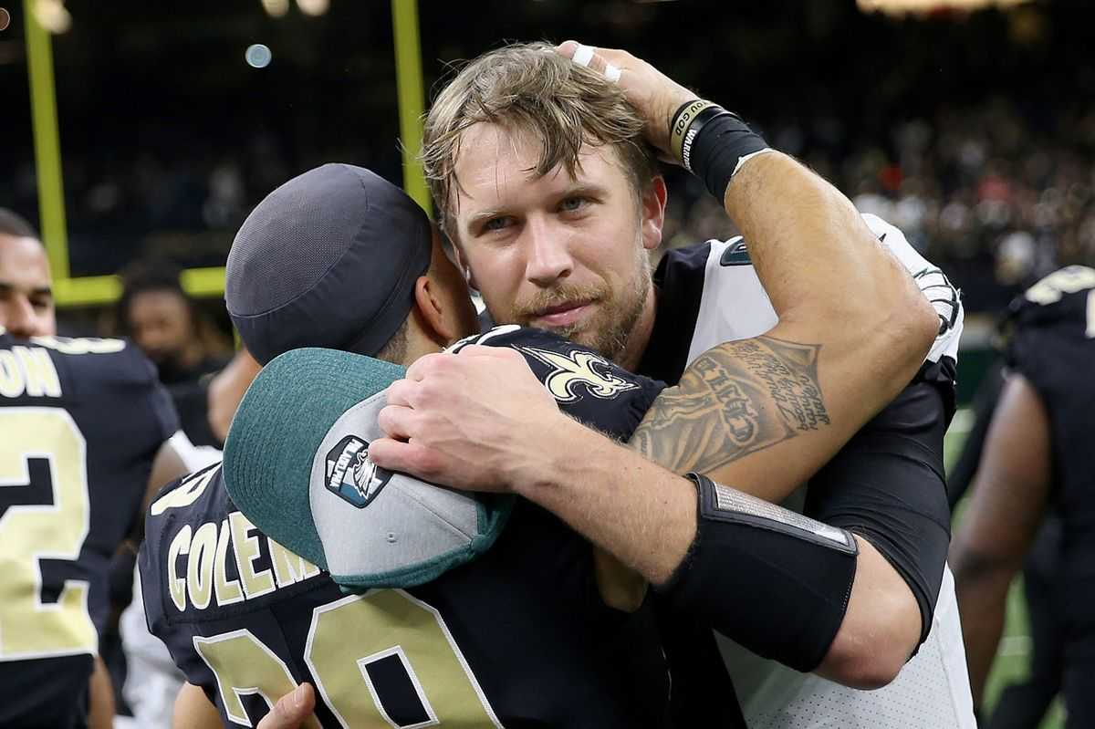 Nick Foles' legacy is intact, but loss to the Saints shows why he won't be back with the Eagles