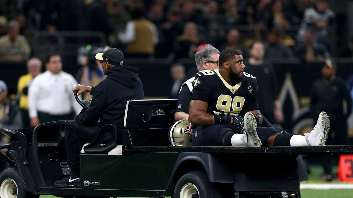 Report: Saints fear Sheldon Rankins has torn Achilles tendon