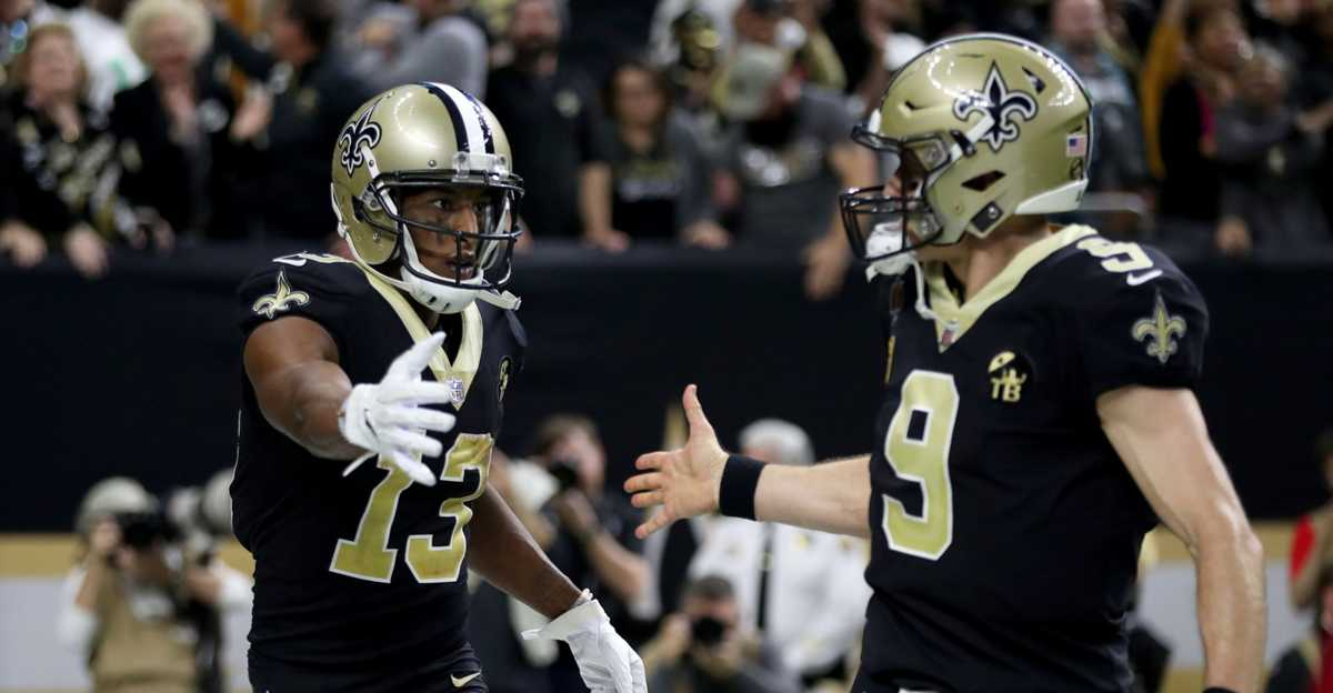 Saints rally past Eagles, will host NFC title game