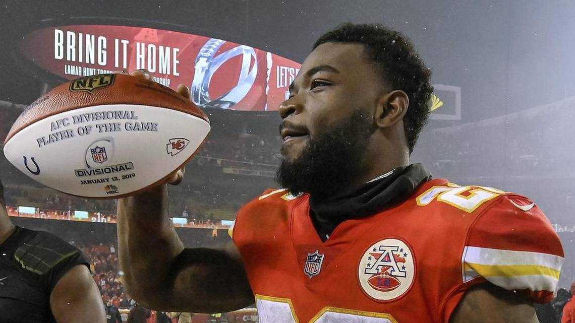 Why beating the Colts was extra-sweet for Chiefs running back Damien Williams