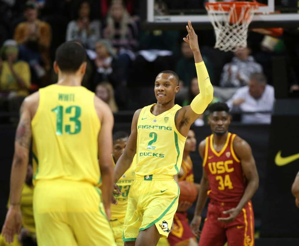 Without Porter, USC men's basketball falls to Oregon