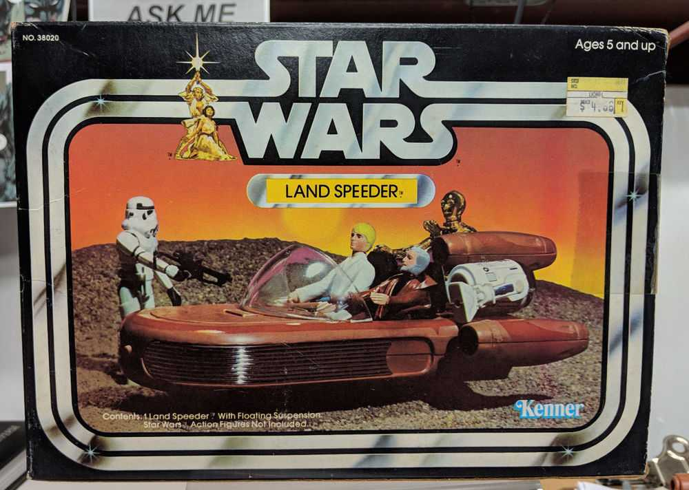 Kenner Star Wars Land Speeder Vehicle Toy