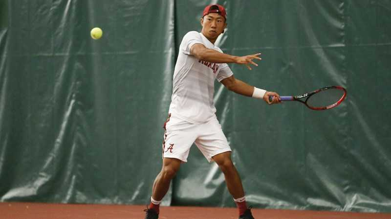 Alabama Men's Tennis Moves Up to No. 21 in Latest Oracle/ITA Team Rankings