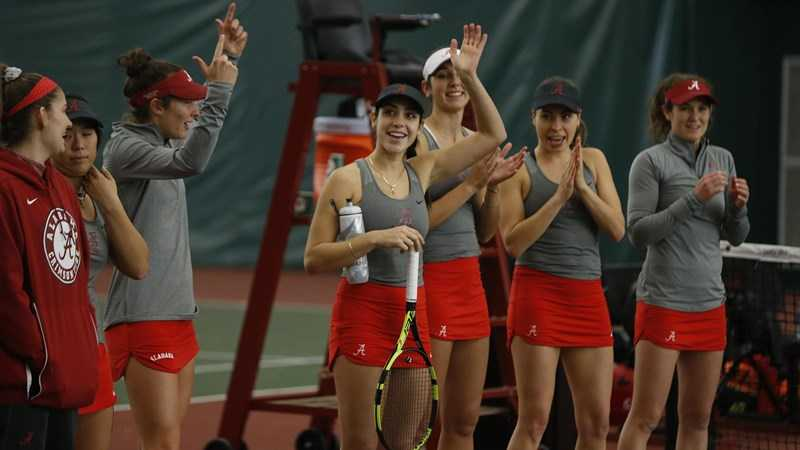 Alabama Women's Tennis Set to Host Mercer and Alabama A&M on Saturday