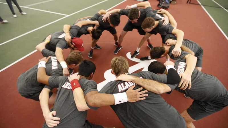 Men's Tennis Continues to Climb in National Team Rankings