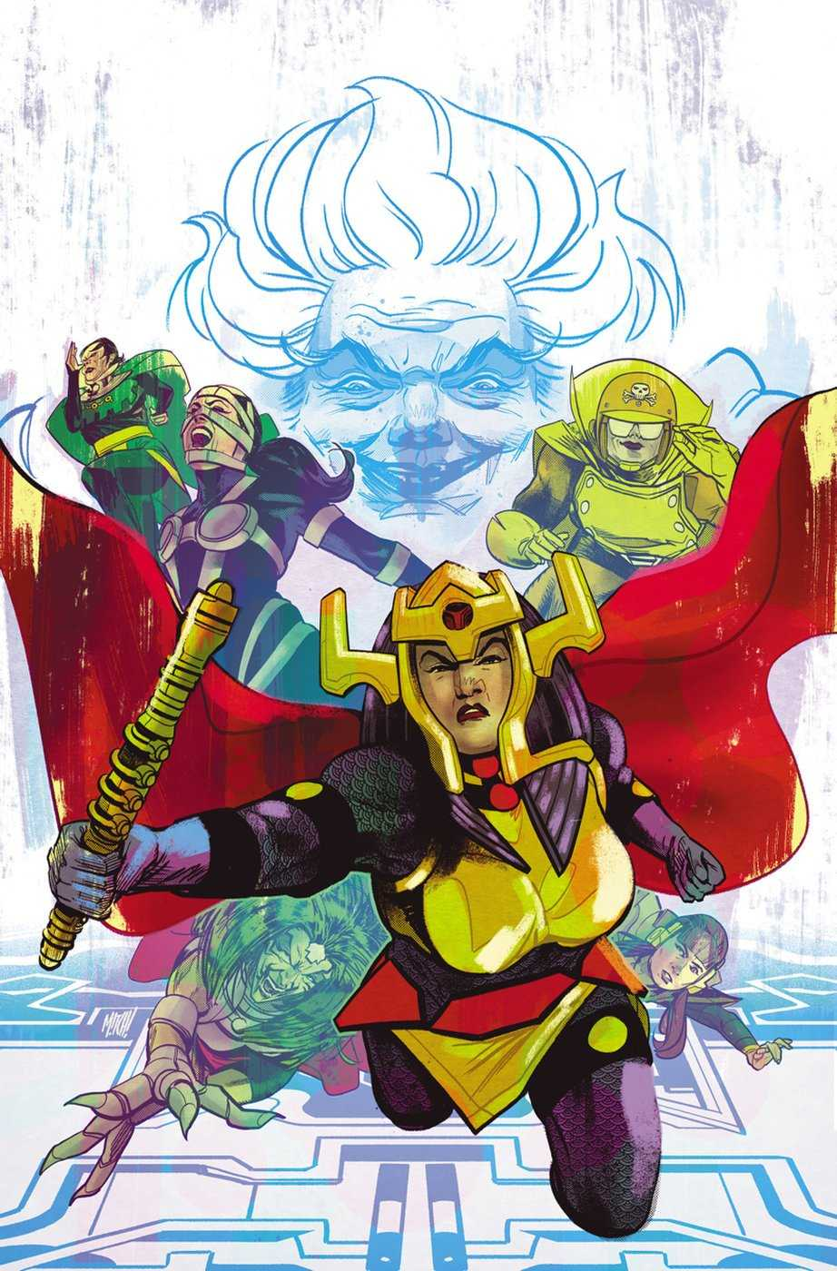 4 Big Barda stories to Free your mind