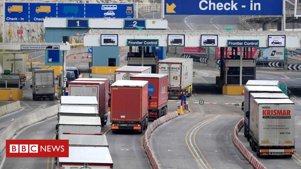 Customs checks simplified for no-deal Brexit