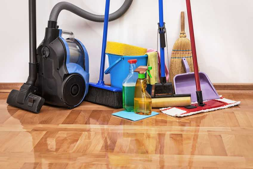 Remove the Salt Residue on your Floors
