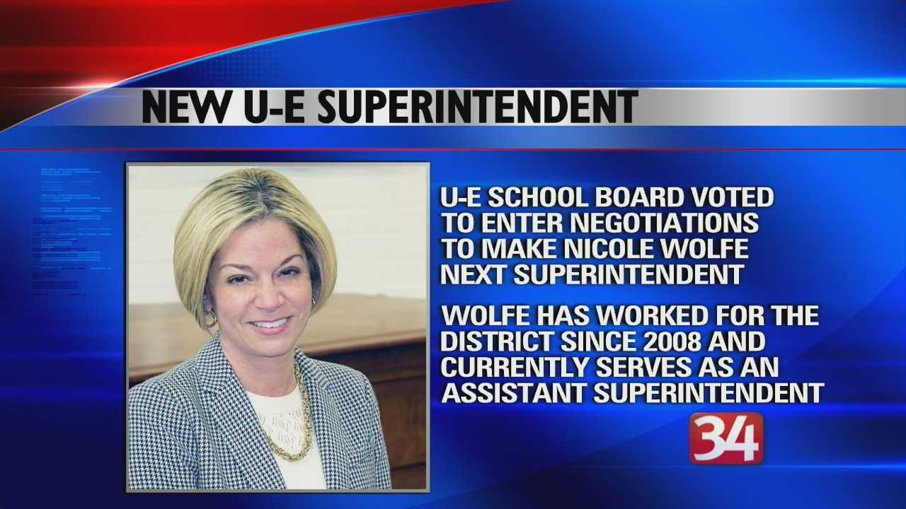 New UE Superintendent