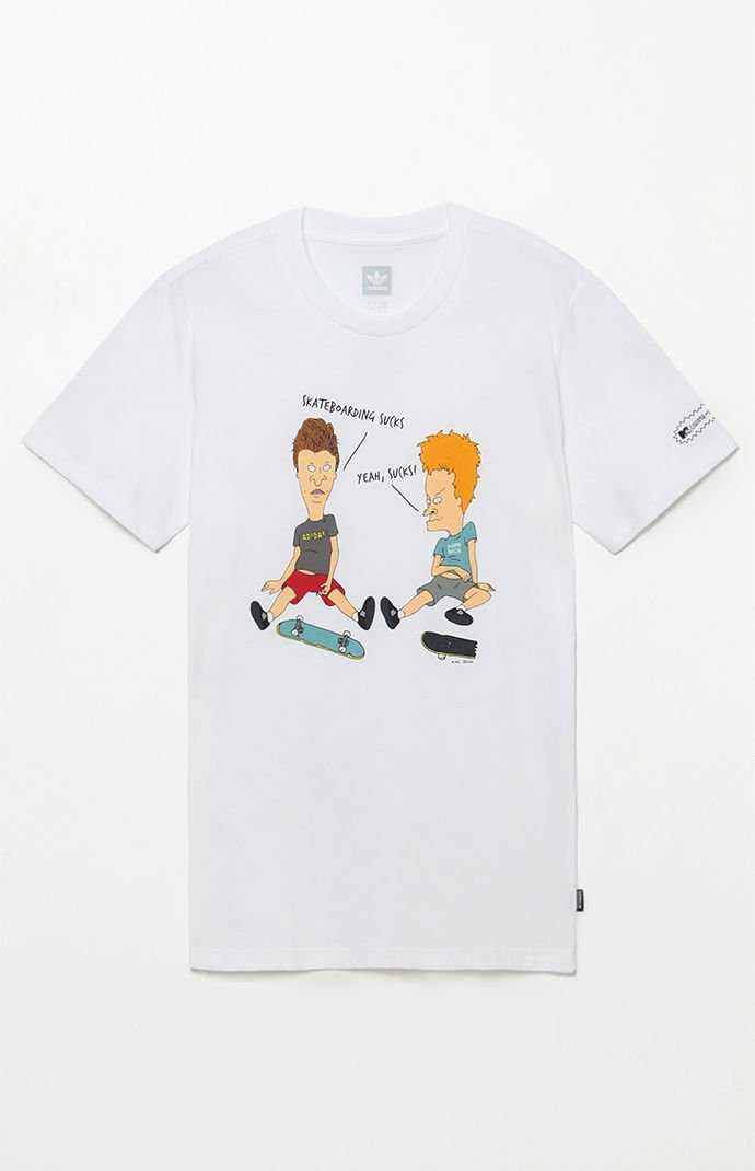 adidas Beavis And Butthead Characters T-Shirt