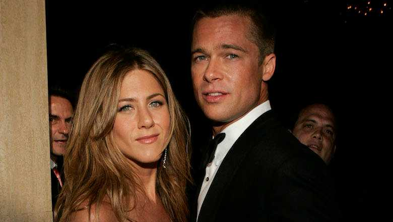 Brad Pitt Attended Jennifer Aniston's B-Day Party For The Sweetest Reason