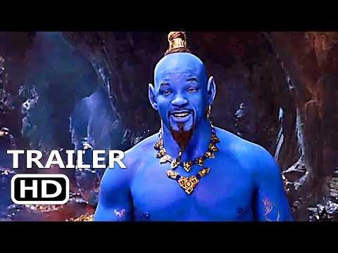 Twitter Roasts Will Smith's Blue Genie In Aladdin Trailer