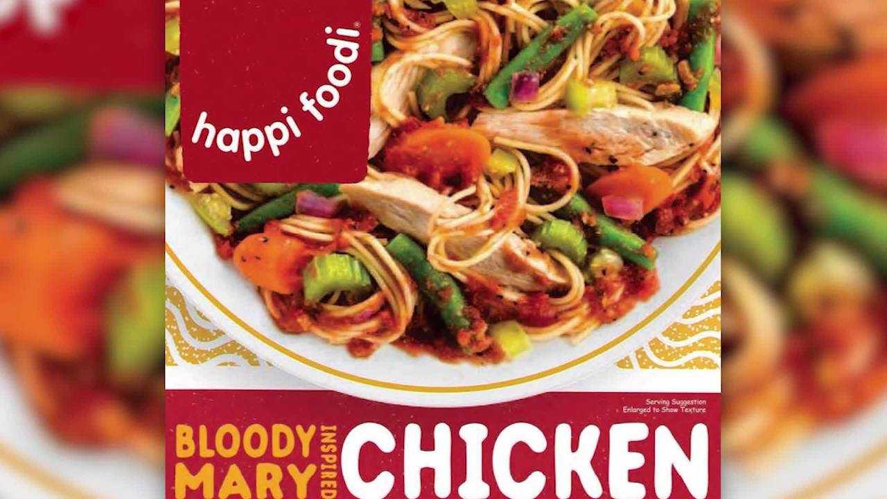 100,000 pounds of chicken recalled due to misbranding