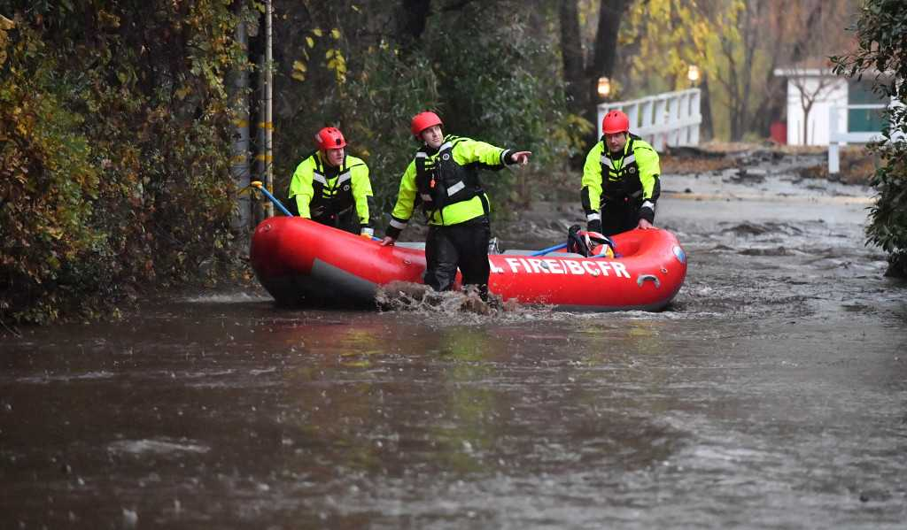 Cal Fire-Butte County prepares rescue team for storm