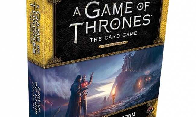 Feel the 'Fury of the Storm' in New Deluxe Expansion for 'A Game of Thrones: The Card Game'