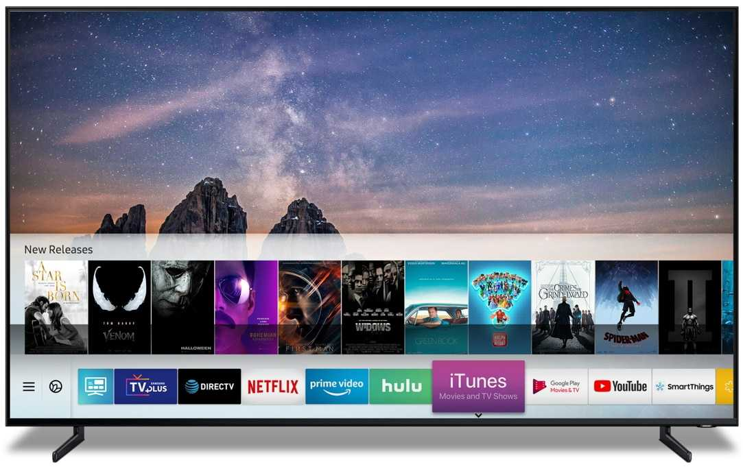 Samsung's first TVs with AirPlay 2 and iTunes are now on sale
