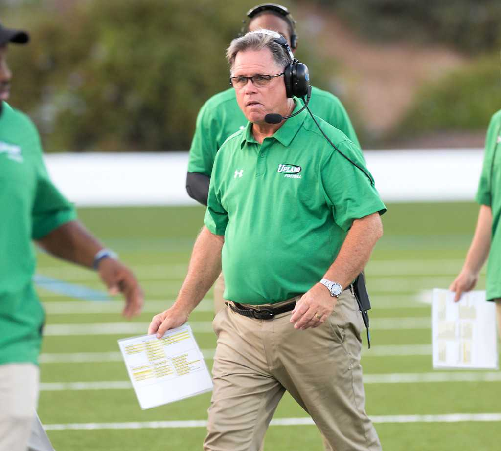 Tim Salter retires from Upland football