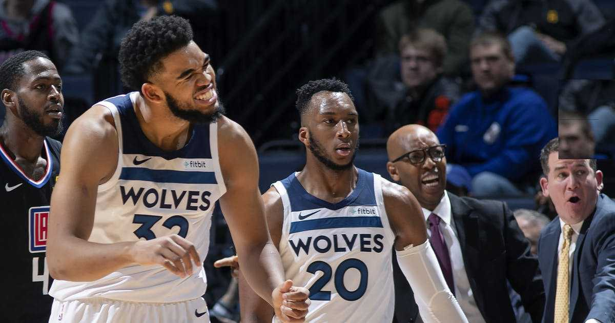 Timberwolves gain ground in West by stopping Clippers