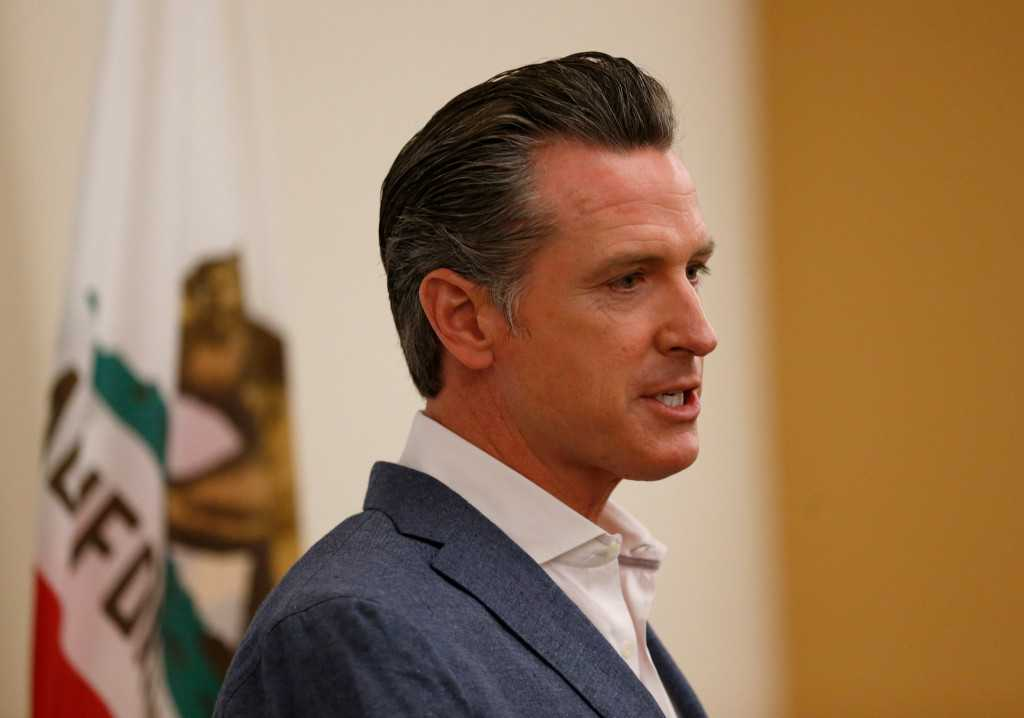 Trump to loom large in Gavin Newsom's first `State of the State' speech