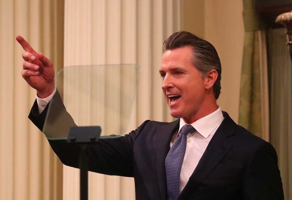 From bullet train to the housing crisis, Gavin Newsom sets new agenda