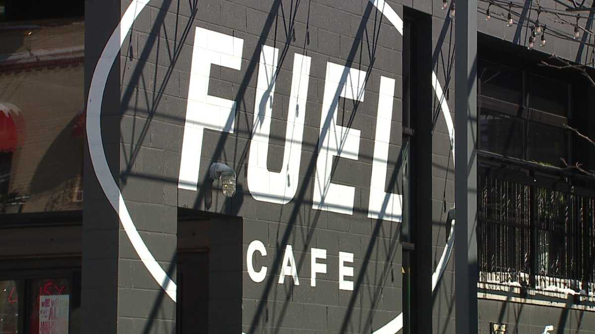 Fuel Café celebrates installation of 60 solar panels on restaurant's roof