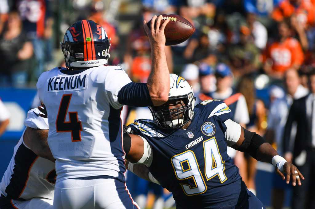 Chargers won't exercise Corey Liuget's option, keep door open for return