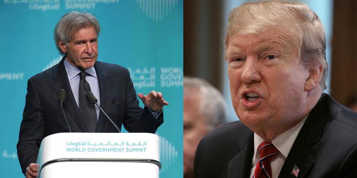 Harrison Ford attacks Trump over climate change