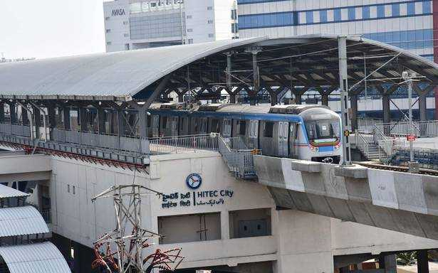 Hyderabad metro rail set to open Hitec City line