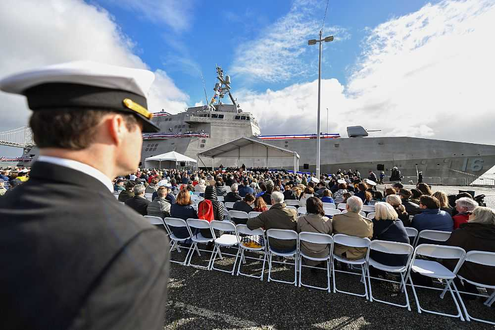 USS Tulsa Commissioned as Navy's Newest Surface Combatant