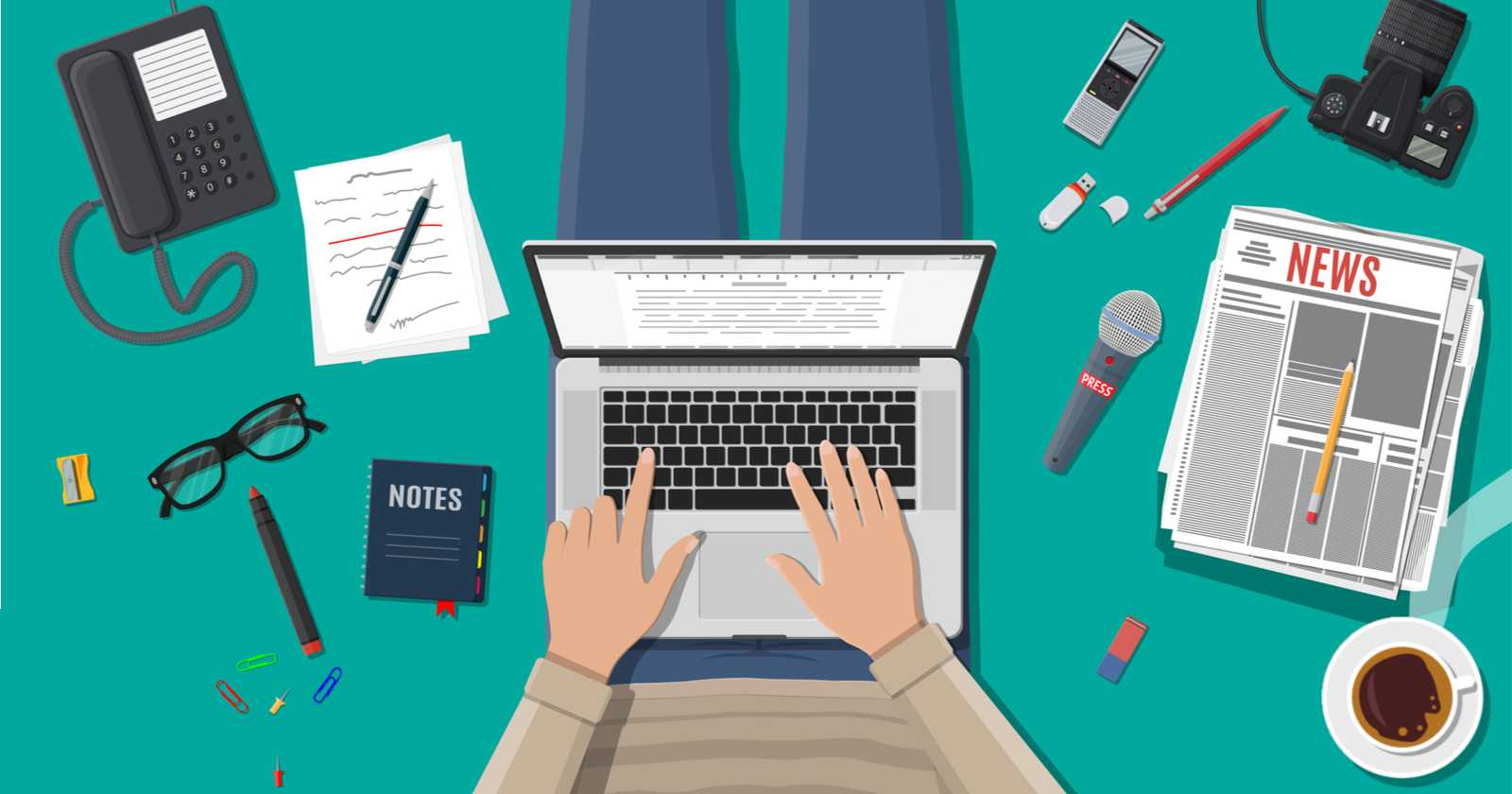 10 Journalism Skills Every Content Marketer Needs