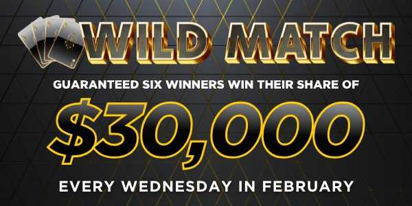 $30K Wild Match Wednesdays