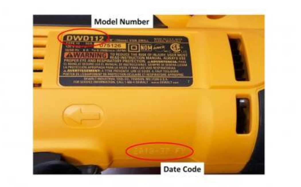 DeWALT Recalls Drills Due to Shock Hazard