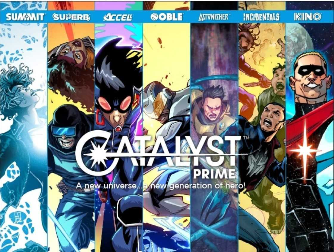 "Lion Forge Announces First Catalyst Prime Event ""Seven Days"""
