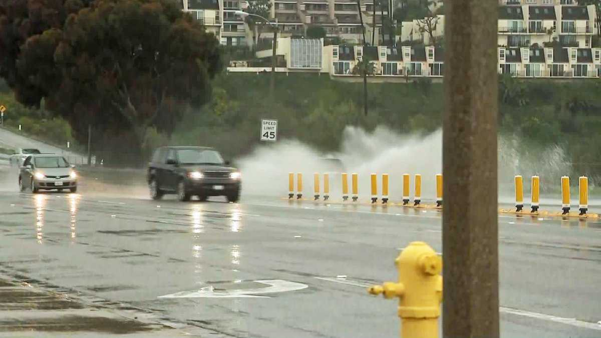 SoCal Storm: L.A., Ventura Counties Under Flash Flood Watch; Santa Barbara Co. Evacuation Orders Lifted