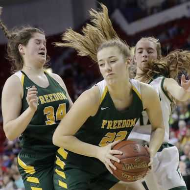 WIAA girls state basketball: Laconia defeats Freedom in semifinals