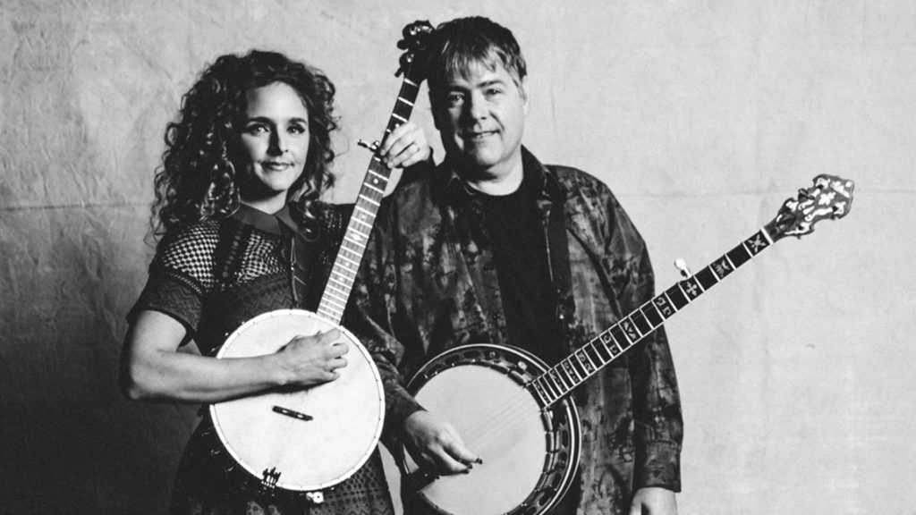 Béla Fleck And Abigail Washburn on Grunin Main Stage April 5