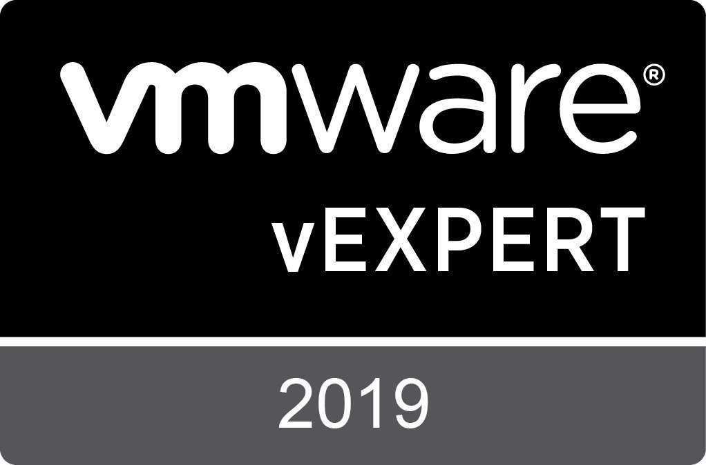 vExpert 2019? check! Why does it matter for me?