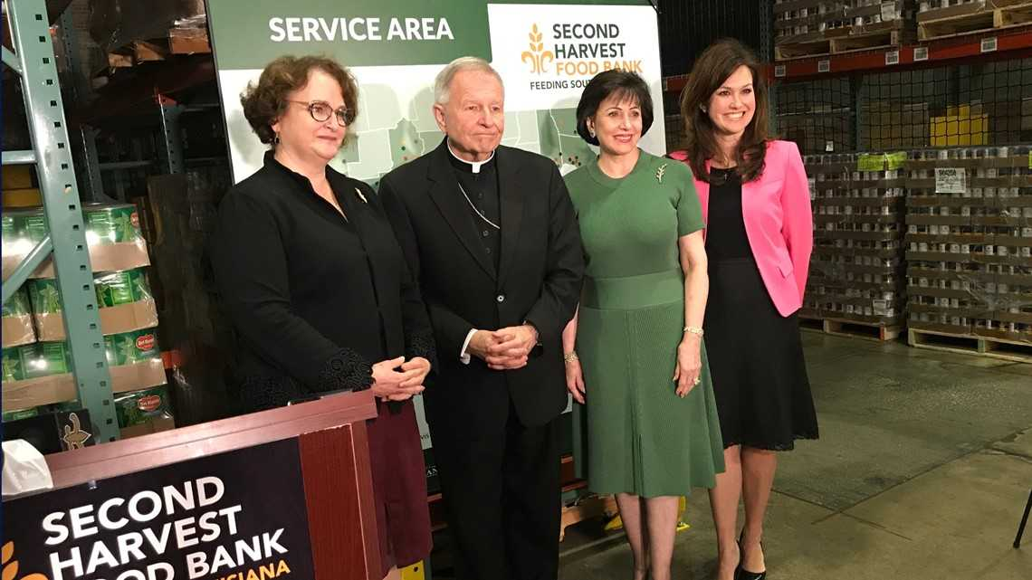 Gayle Benson donates $3.5 million to Second Harvest Food Bank