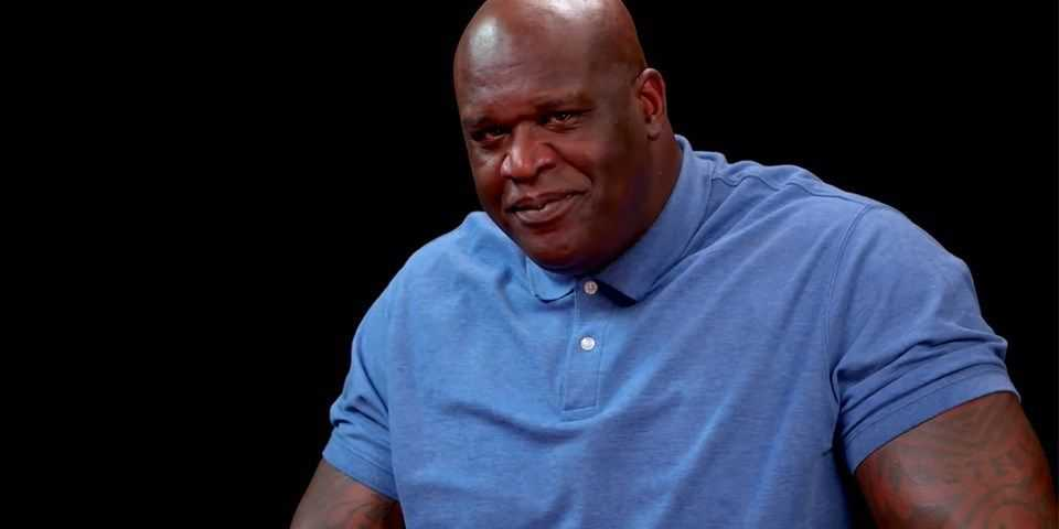 Shaq Loses it on 'Hot Ones'