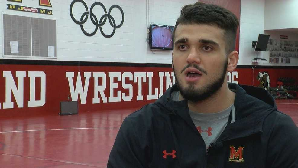 Maryland wrestler honoring his family by going after a dream