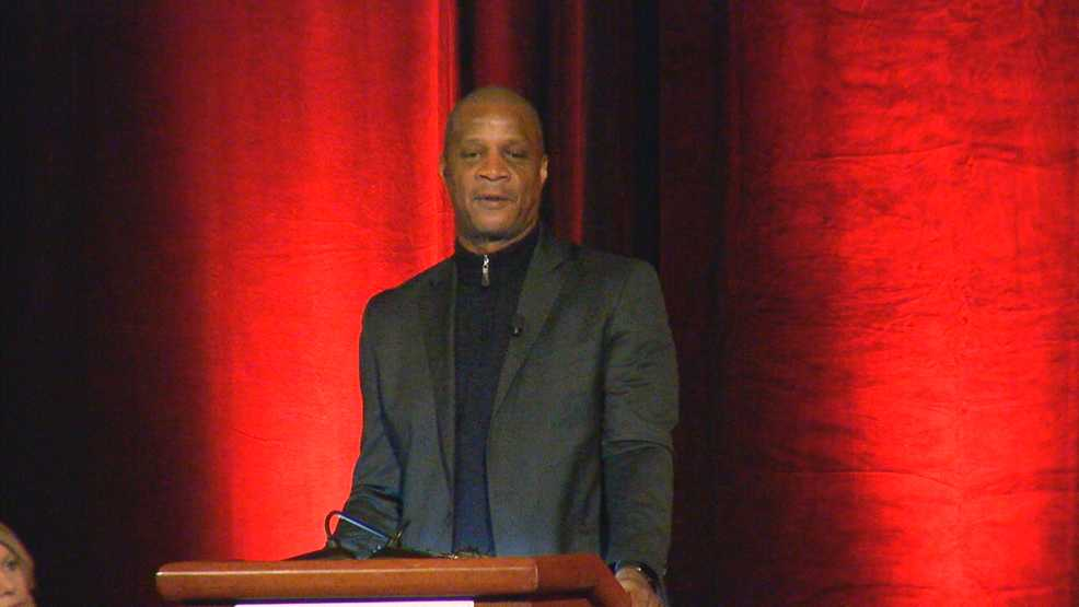 MLB great Darryl Strawberry talks about addiction, redemption at local fundraiser