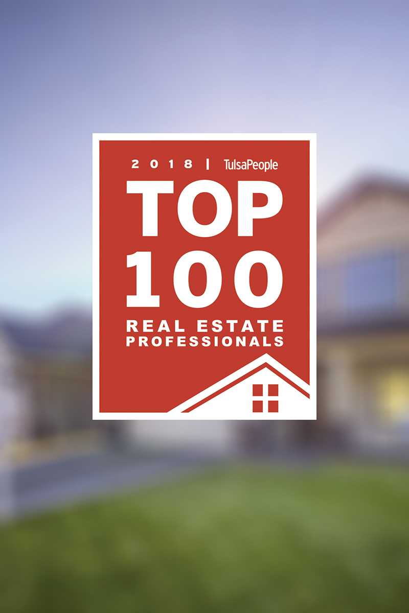 Tulsa's top 100+ real estate professionals