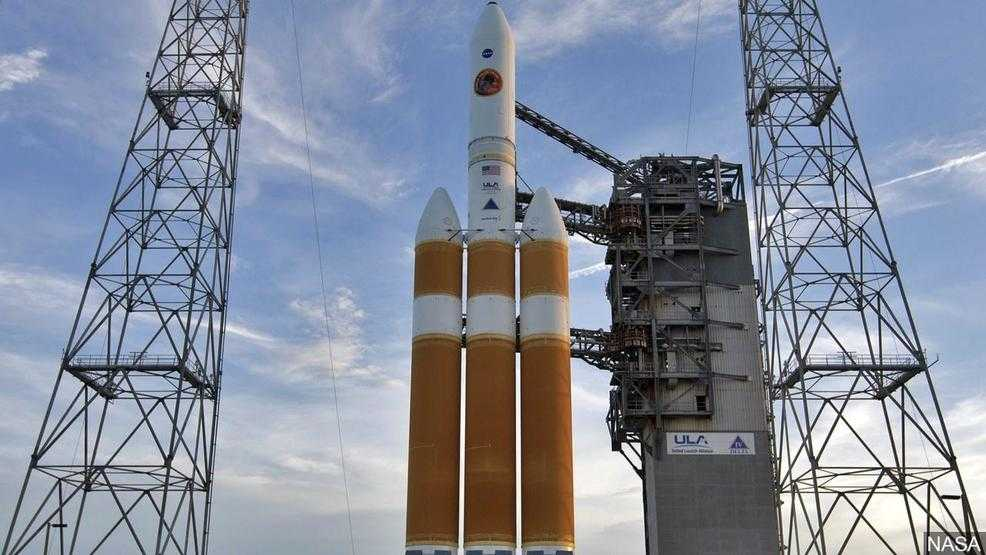 United Launch Alliance Delta IV rocket launch in Florida