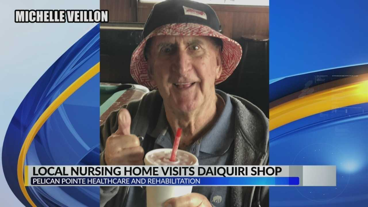 Video of local nursing home residents headed into daiquiri shop goes viral