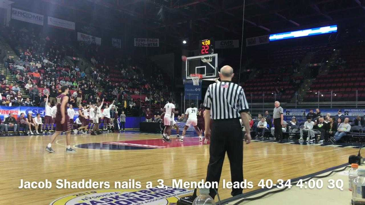 Pittsford Mendon's perfect season ended in state title game