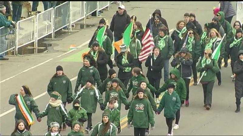 St. Patrick's Day celebrations bring crowds downtown