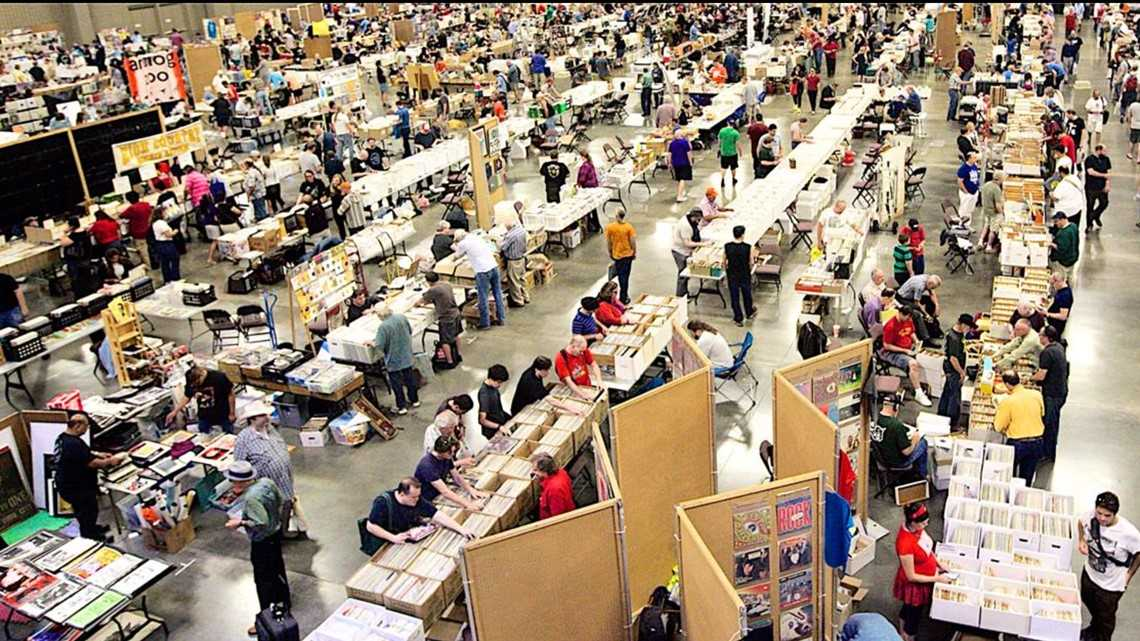 Largest vinyl record sale in the U.S. happening in Austin again this May
